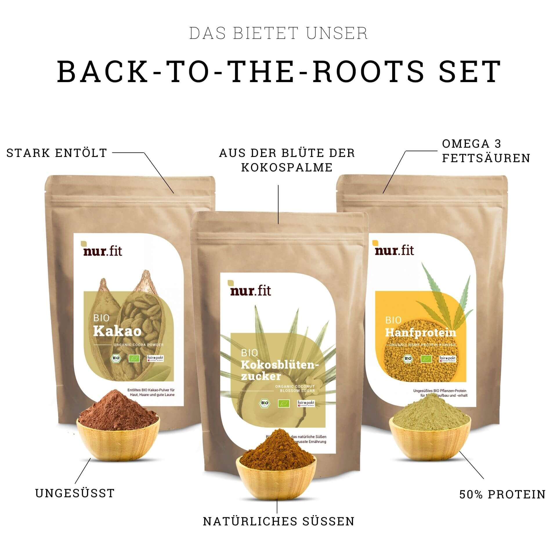 BIO Back-to-the-Roots Set
