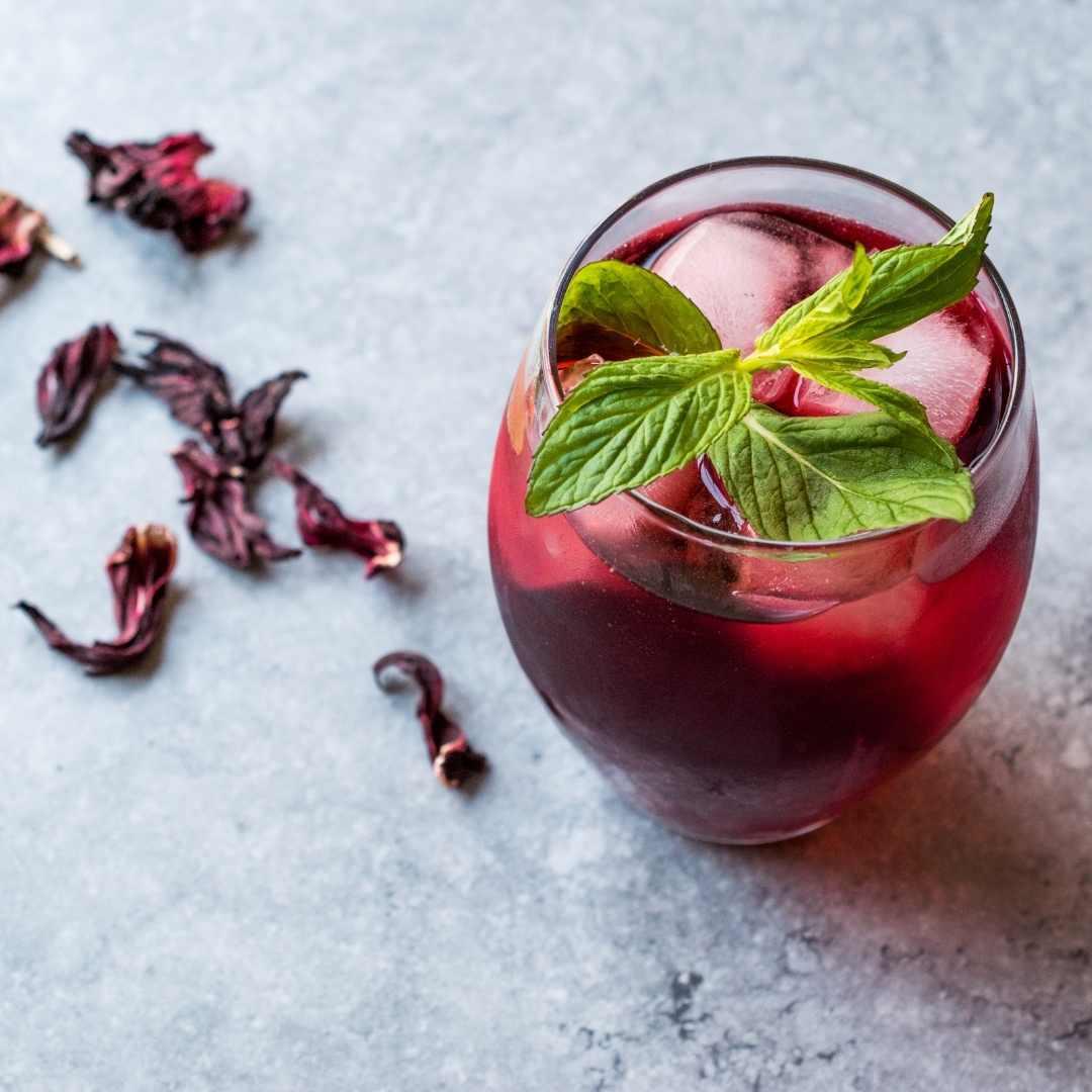 Hibiskus Iced Tea