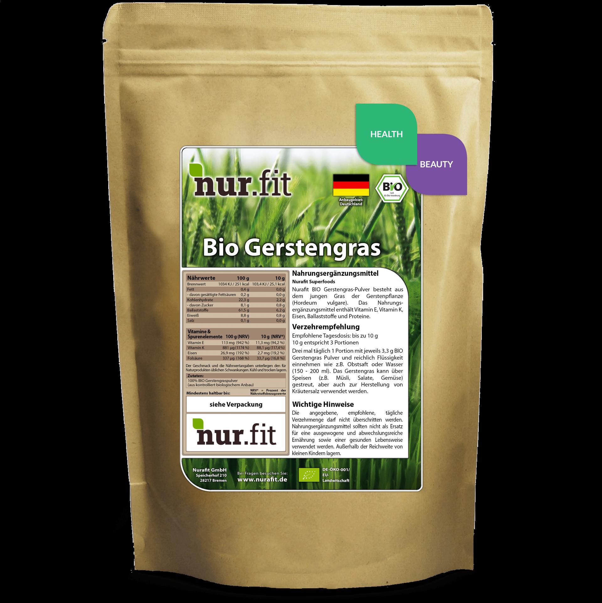 Organic Barley Grass Powder
