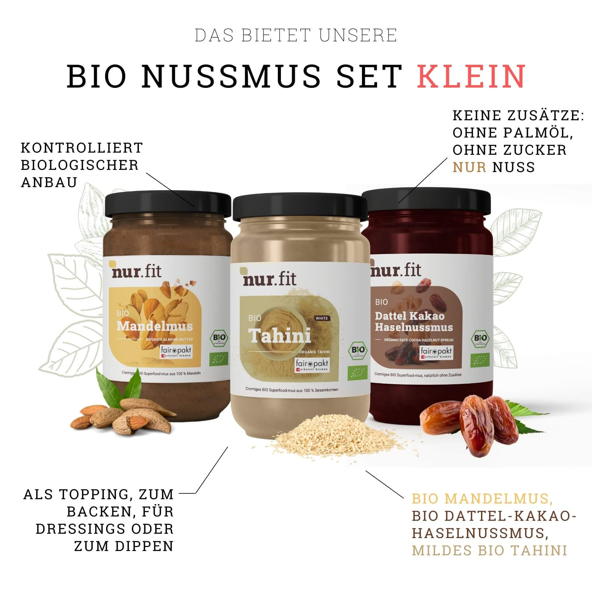 Organic Nut Butter Set