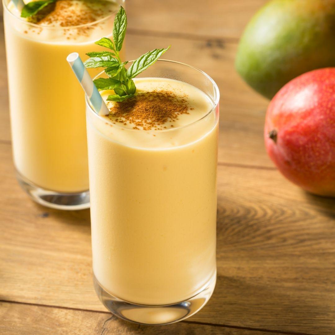 Mango Lassi with Organic Maca
