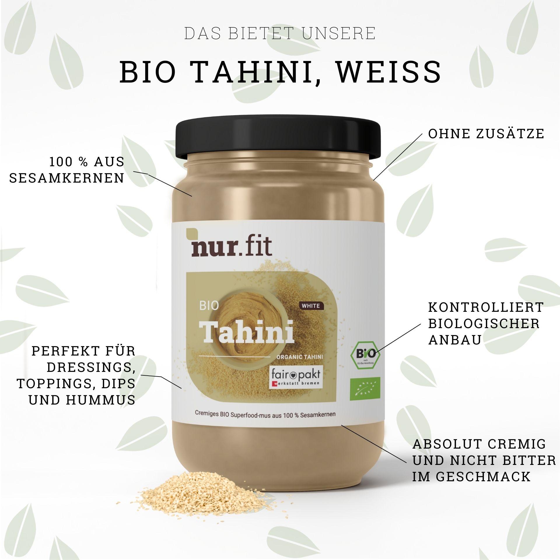 Organic tahini white