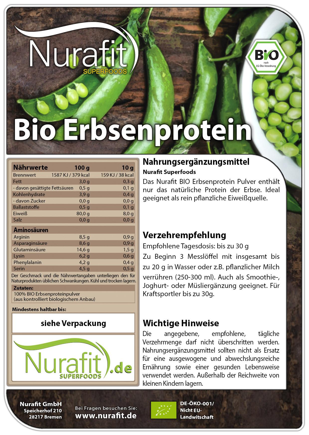 BIO Erbsenprotein