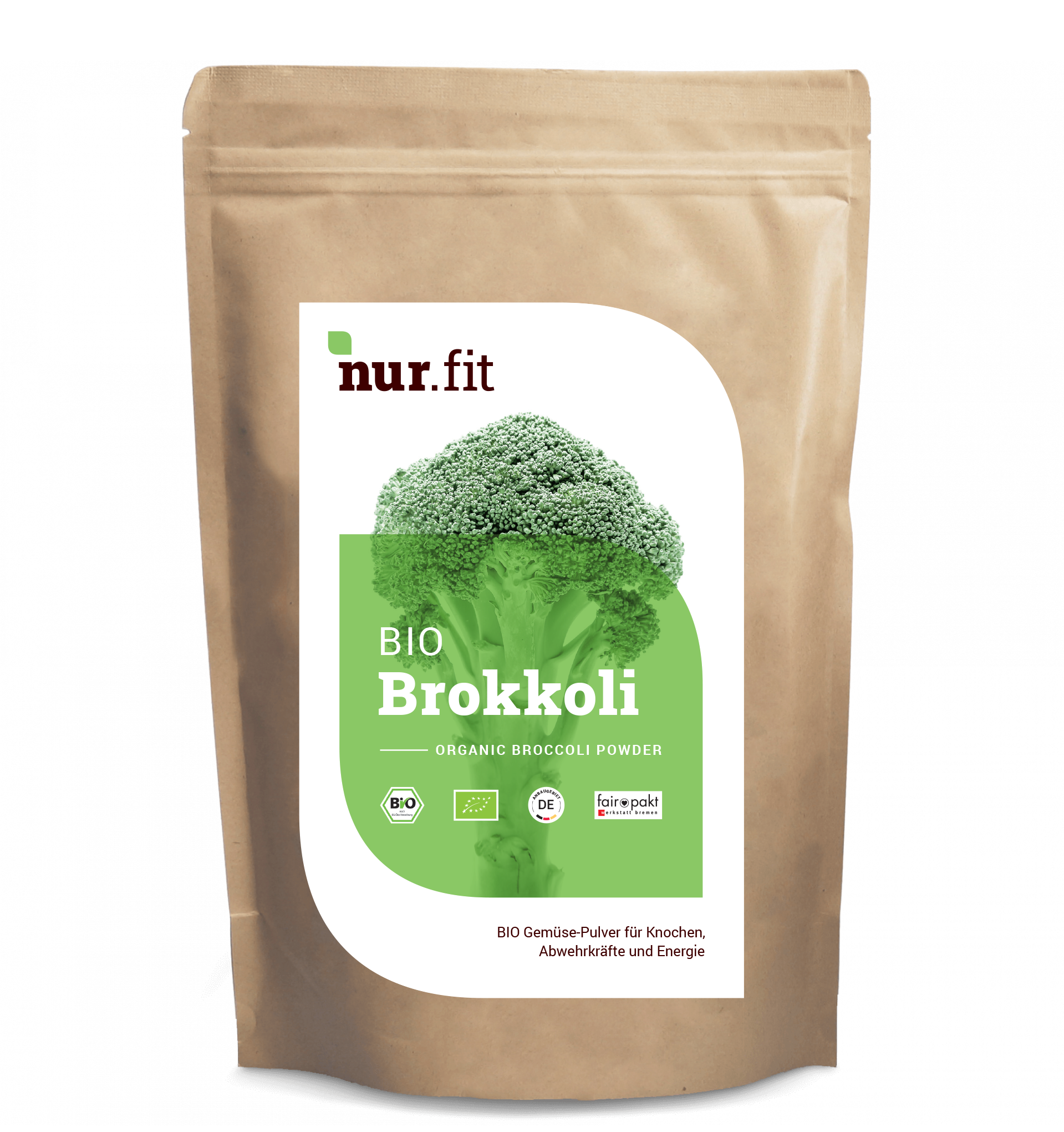 BIO Brokuły w proszku z Niemiec