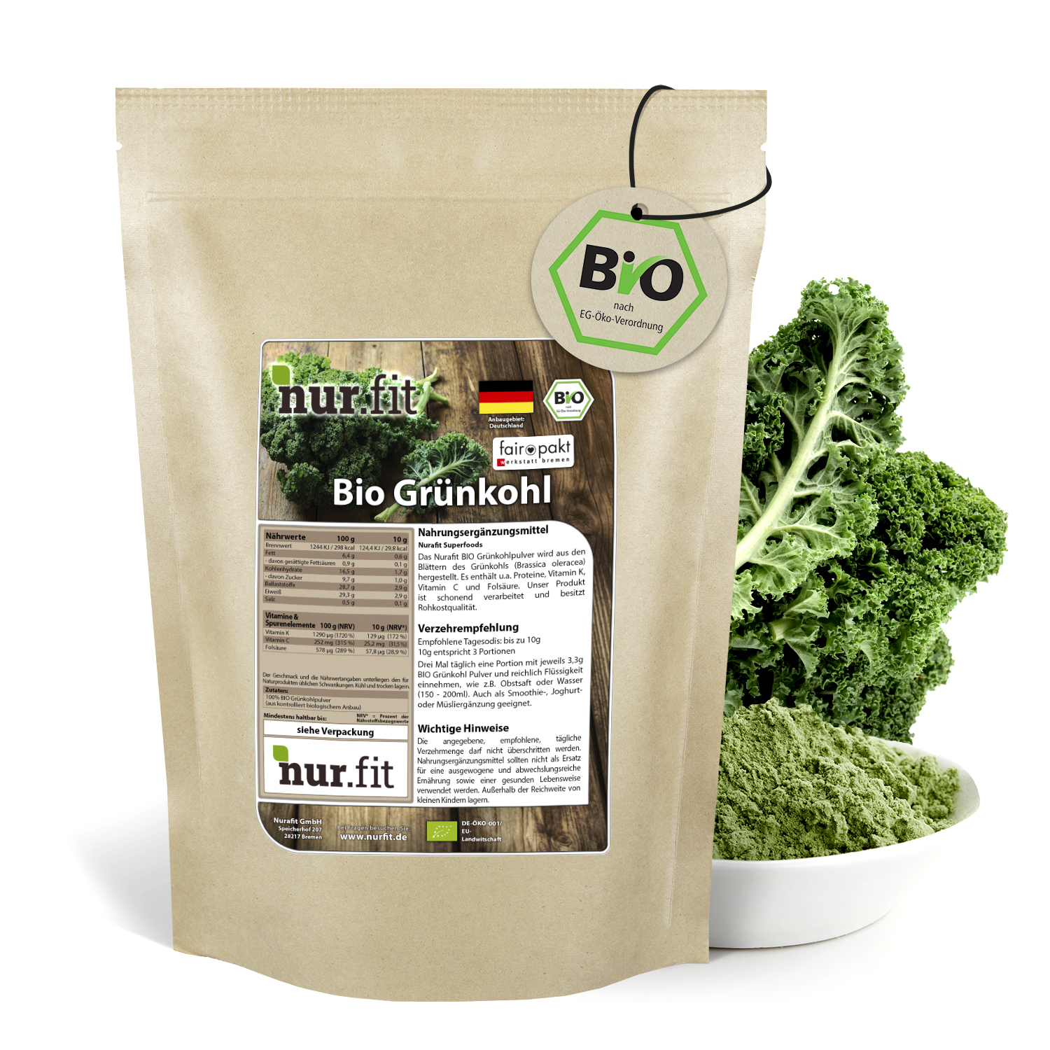 Organic Kale Powder