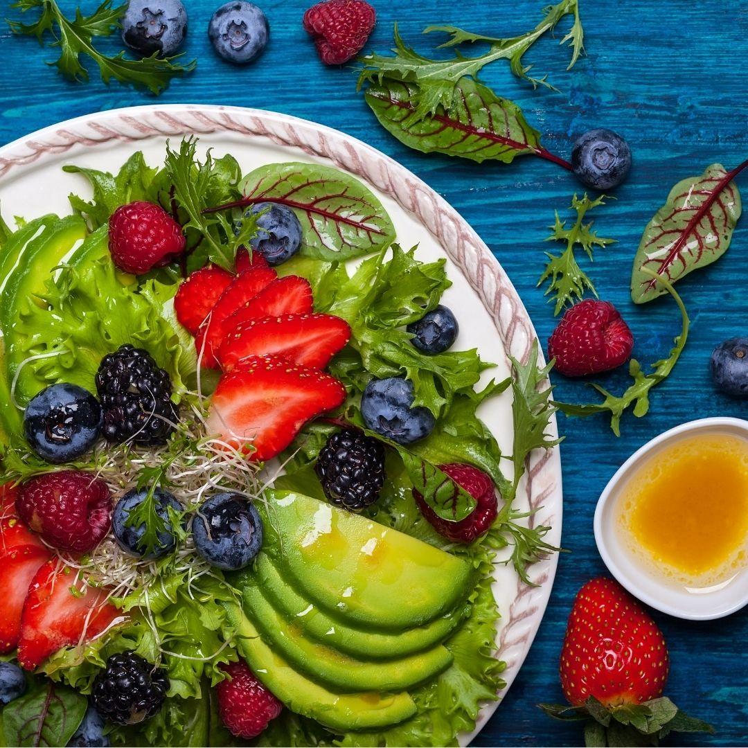 Salatdressing mit BIO Hagebuttenpulver