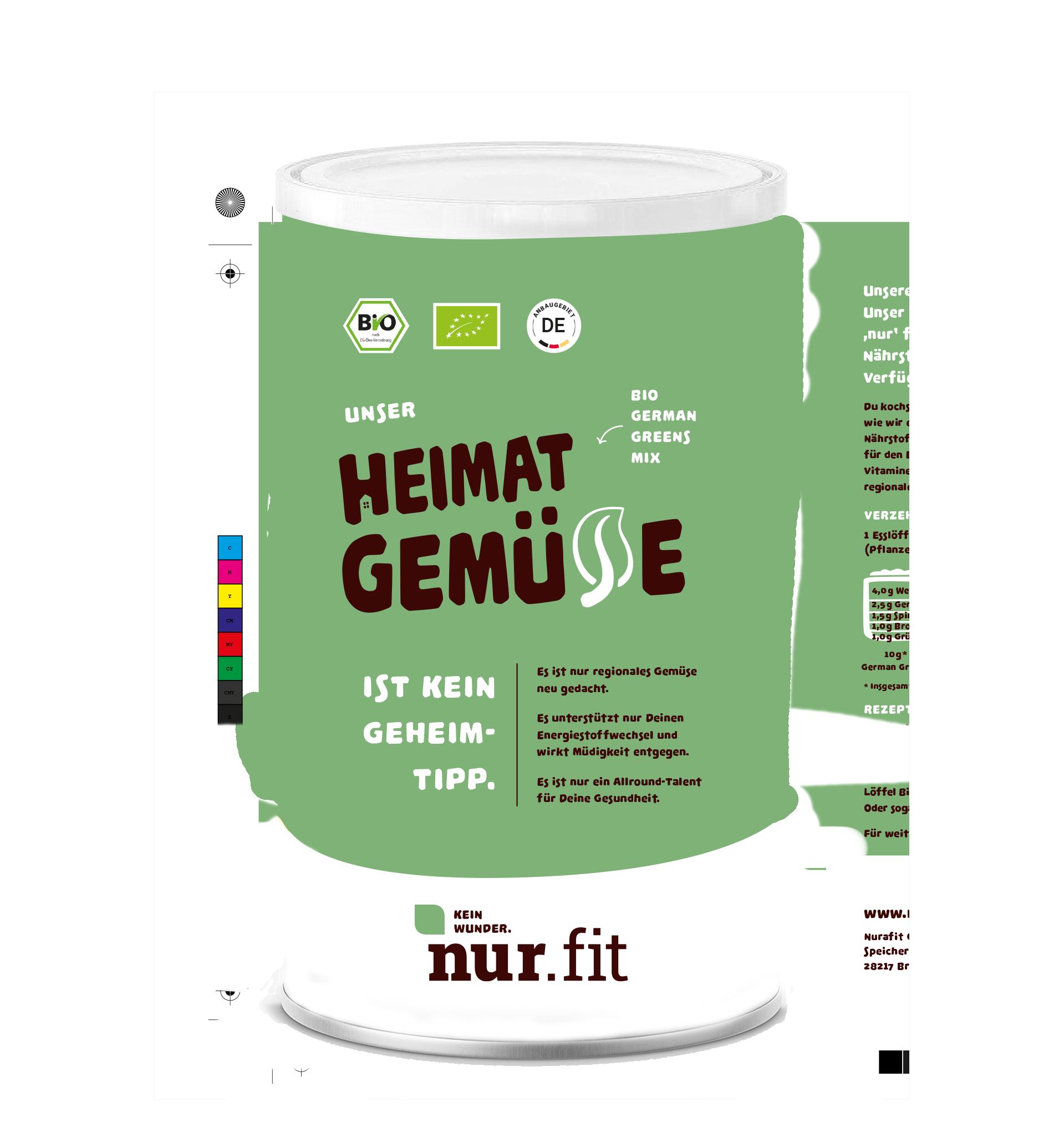 Organic German Greens Mix
