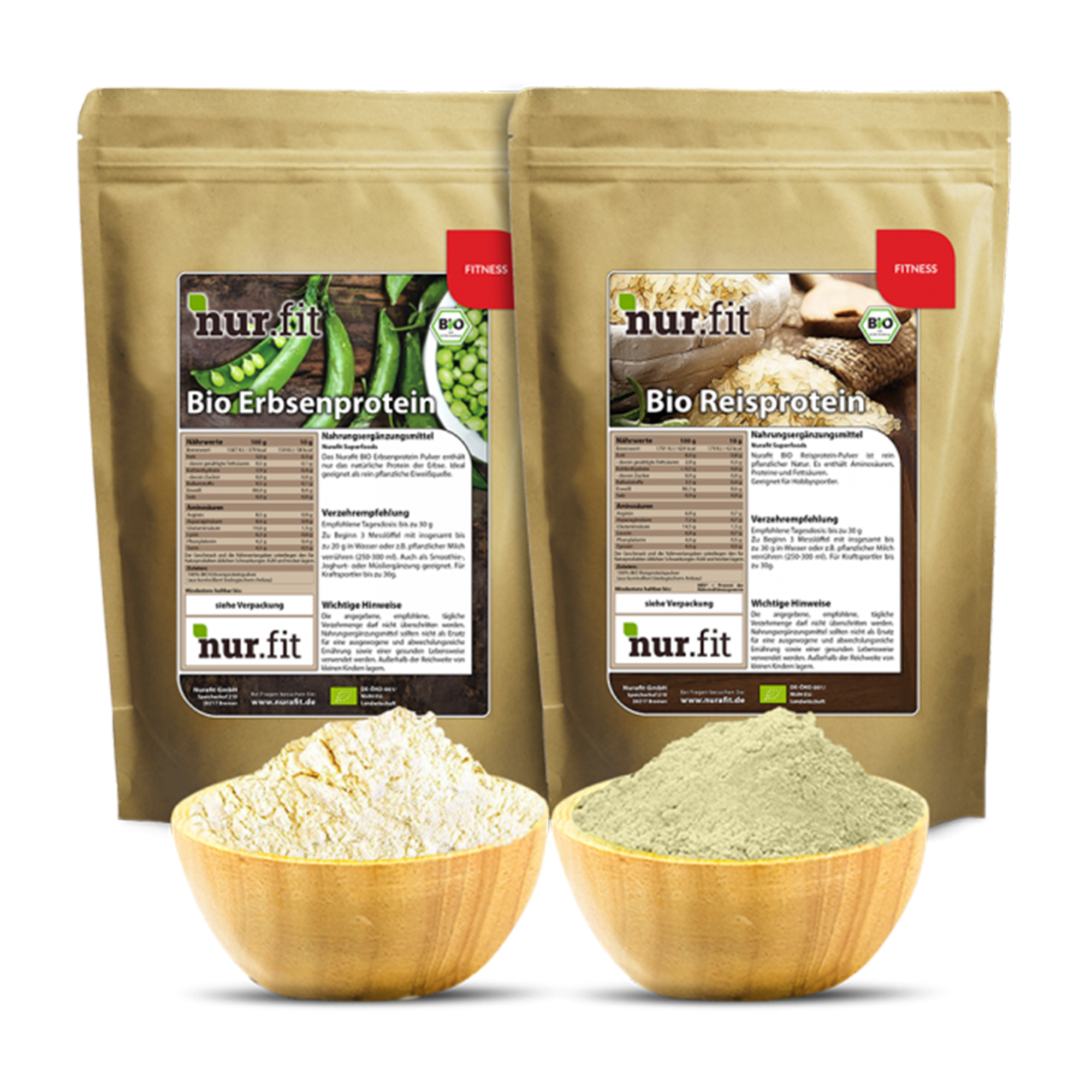 Fitness Bundle (Rice Protein, Pea Protein)
