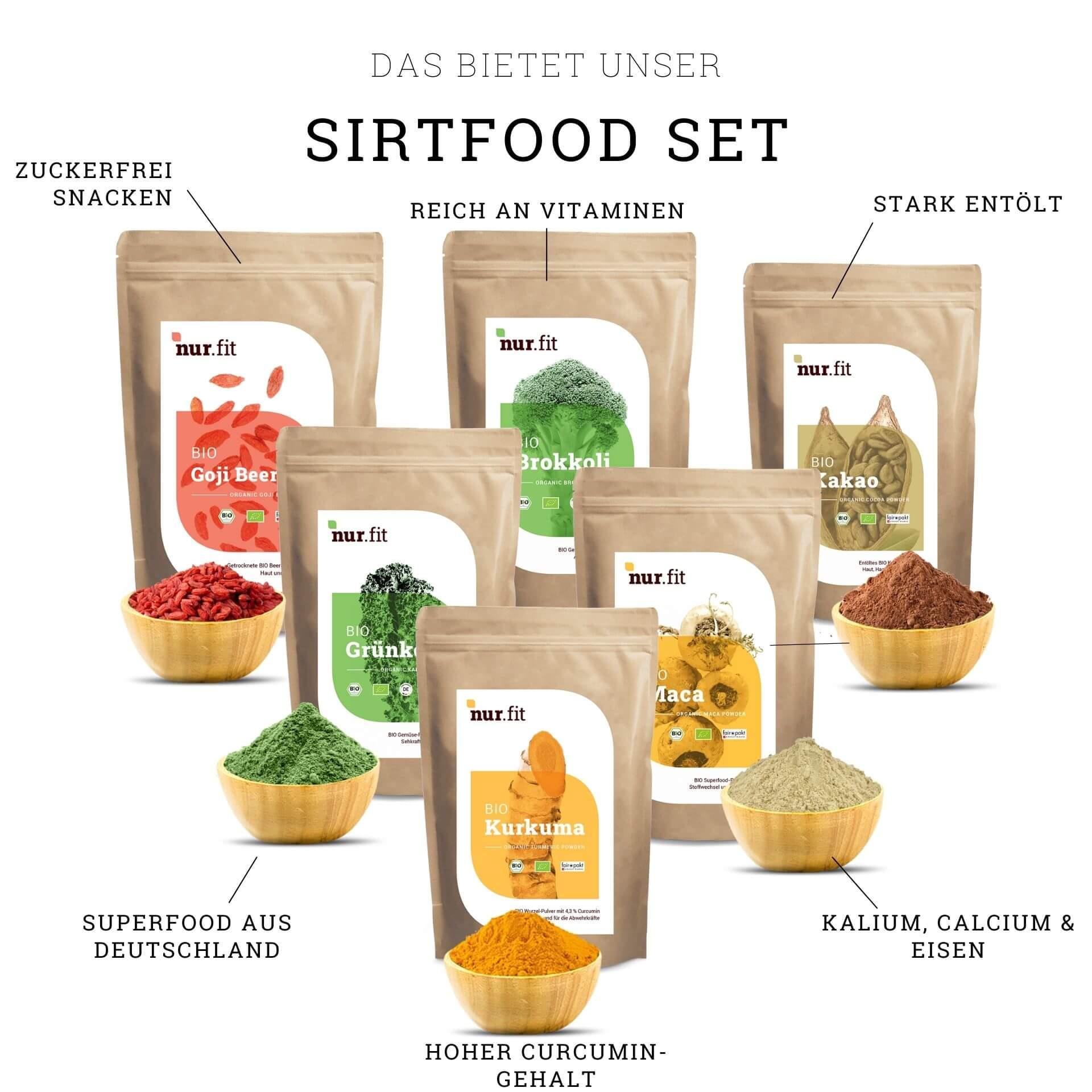 BIO Sirt-Food Set