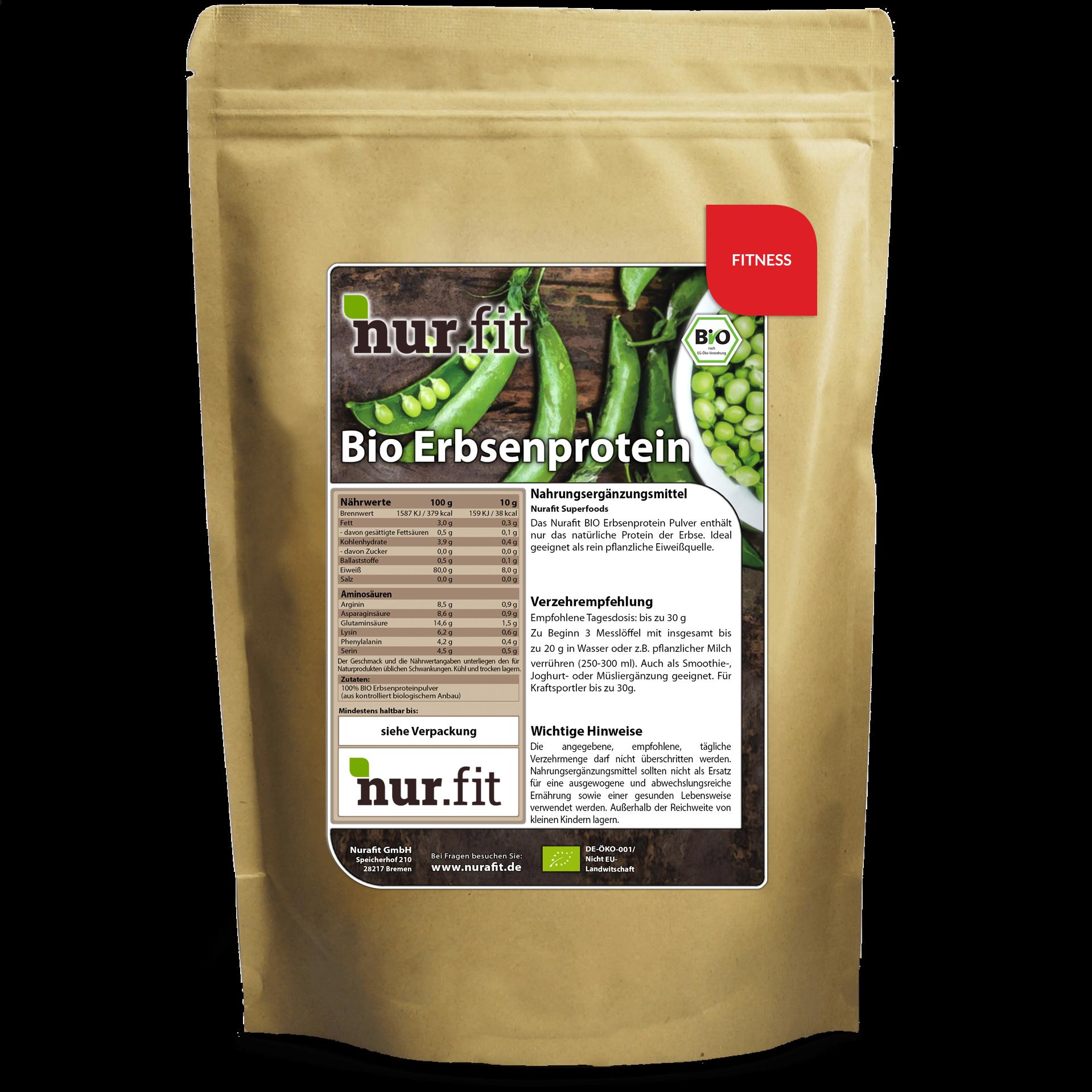 Organic Pea Protein 500g