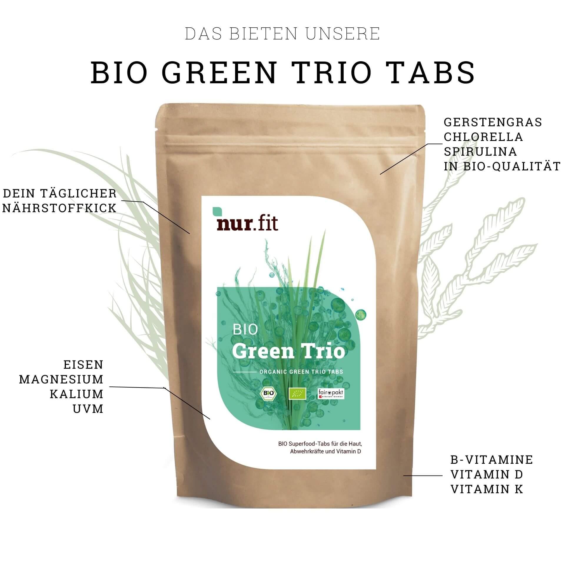 BIO Green Trio Tabs