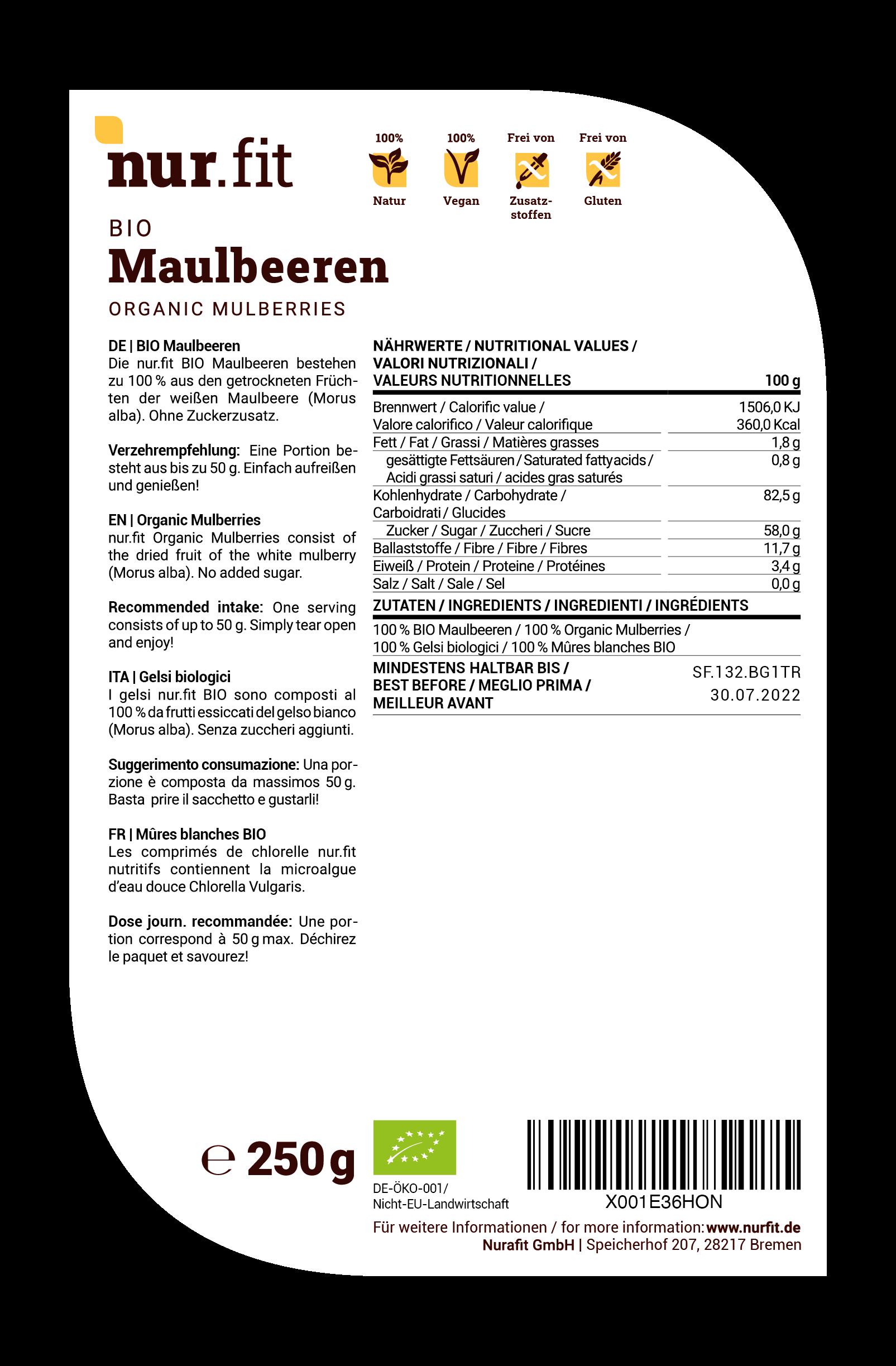 BIO Maulbeeren